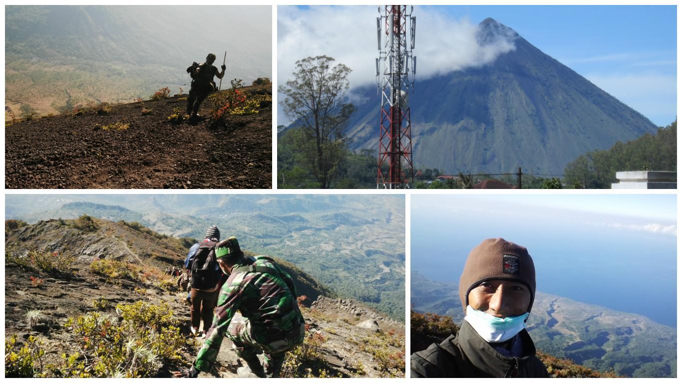 pendakian gunung inerie