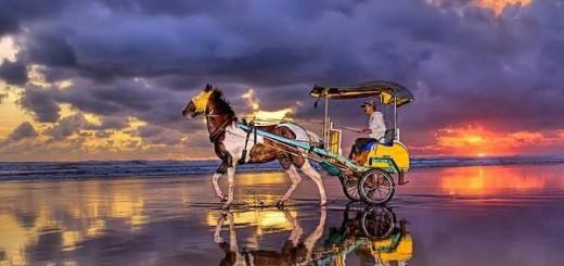 jalan menuju pantai parangtritis