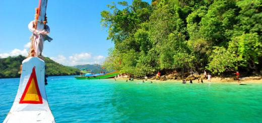 foto pulau sempu batu malang